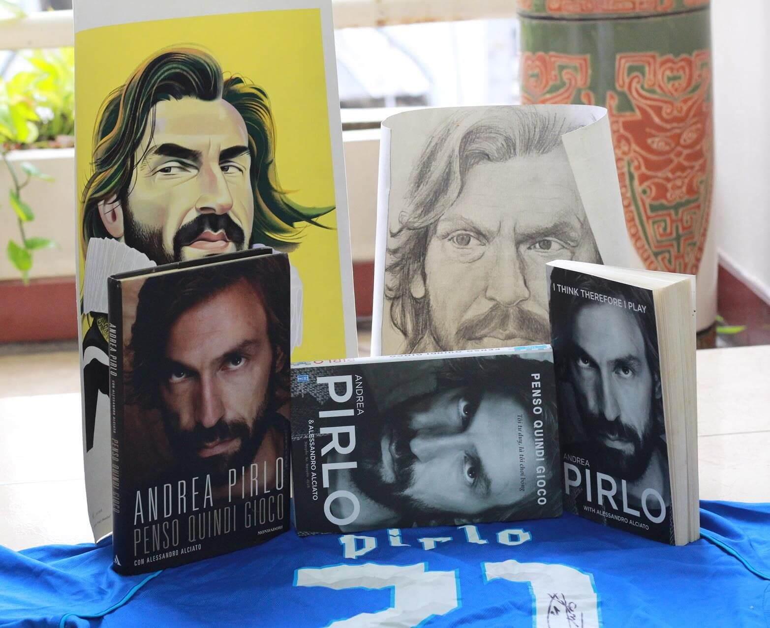 Tự Truyện Adrea Pirlo - Tôi Tư Duy Là Tôi Chơi Bóng