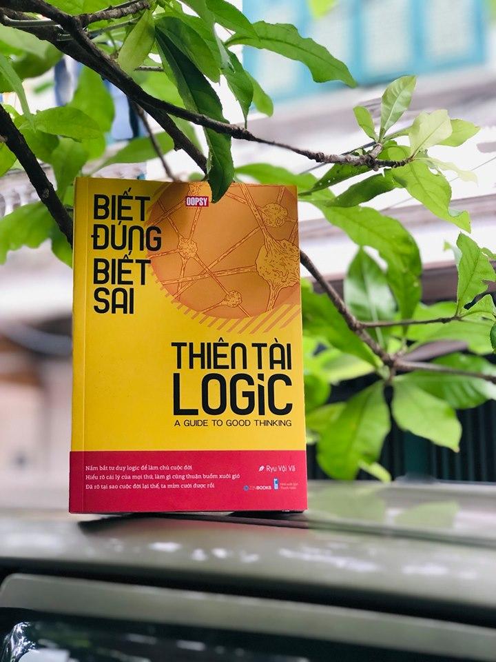Review sách Biết đúng biết sai thiên tài logic